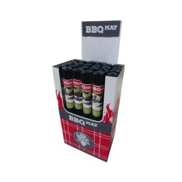 Box de 24 coupons de 1mx1,20m OROTEX Bbq Mat 2236 Antra