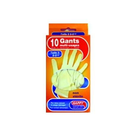 Boîte de 10 gants en latex Gappy jetables multi-usages DART taille S