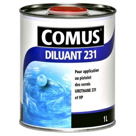 Diluant 231 COMUS pour Urethane et Ecran 400 1L