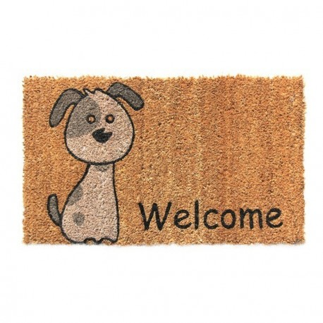 BTB Tapis coco Welcome moderne