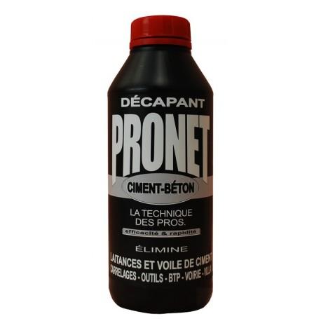 Décapant ciment et béton PRONET 1L