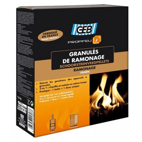 Granulés de ramonage GEB Propfeu 1,5kg