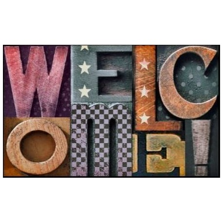 Tapis DECORMAT Welcome 3D 40x60cm