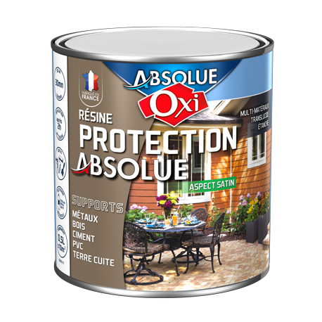 Protection absolue OXI finition satin 0,5L