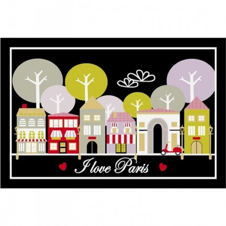 DECORMAT Tapis Love Paris