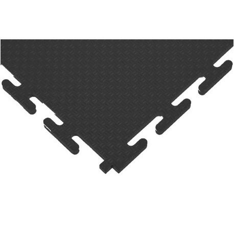 Dalle PVC TLM Traficfloor ECO NT 7mm gris foncé (proche RAL7016) 50x50cm