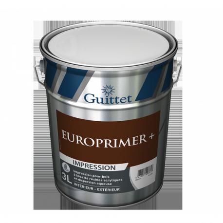 Impression pour bois GUITTET Europrimer+ blanc 3L