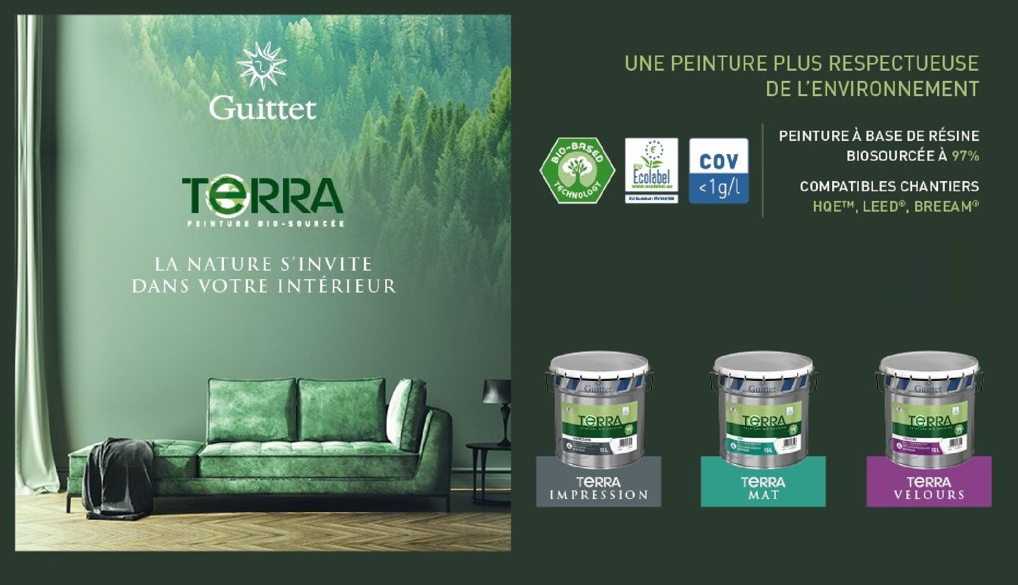 Nouvelle gamme Terra Guittet