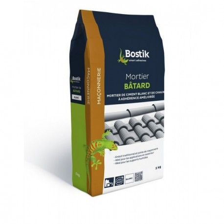 Mortier bâtard BOSTIK 5kg