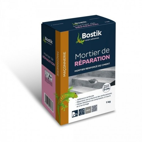 Mortier de réparation BOSTIK 1kg