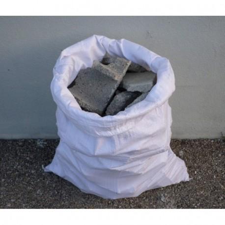 Lot de 5 sacs à gravats SO.DE.PM blanc 70L