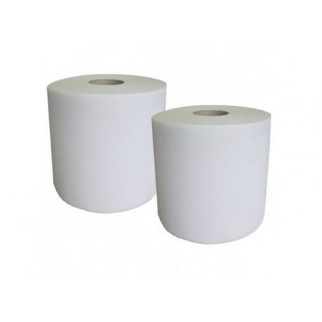 Essuyage industriel GLOBAL HYGIENE pâte blanche bobine 1000 formats lot de 2