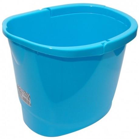 Seau semi ovale RM bleu 13L réf : 806255