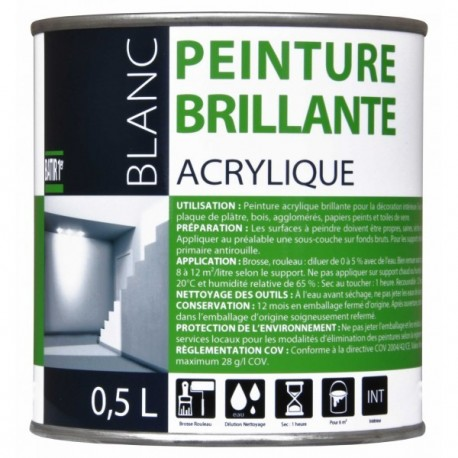 BATIR 1° Acrylique brillant
