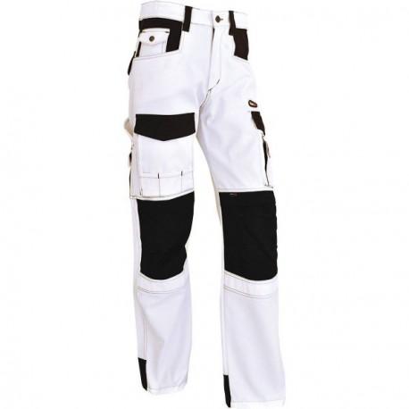 Pantalon VEPRO ELITE extensible blanc/noir taille 38