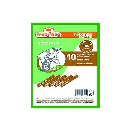 10x100L verts DART Moby-bag PEBD