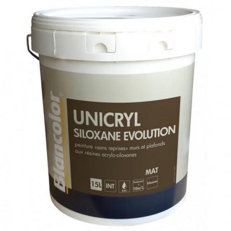 Peinture BLANCOLOR Unicryl Siloxane Evolution 15L