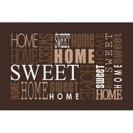 Tapis DECORMAT Home sweet Home 40x60cm