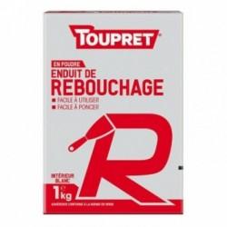 TOUPRET Basique & Chantiers Enduit pour reboucher R poudre