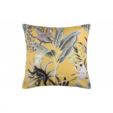 Coussin STOF GREENMOOD moutarde 45x45cm